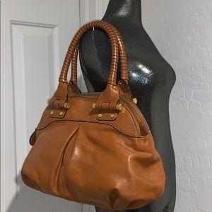 ANTONIO MILANI Large leather satchel EXCELLENT!